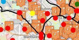 Mappa DAE (Defibrillatore Automatico Esterno) - Elaborazioni  classe 3G