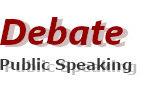 Debate Public Speaking